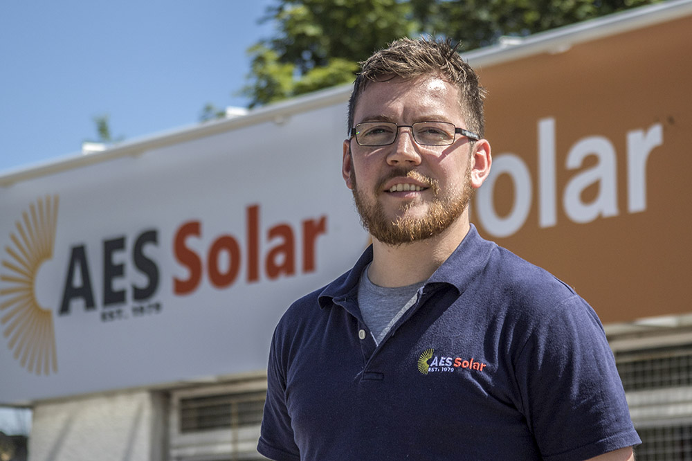 Josh King, AES Solar Operations Manager