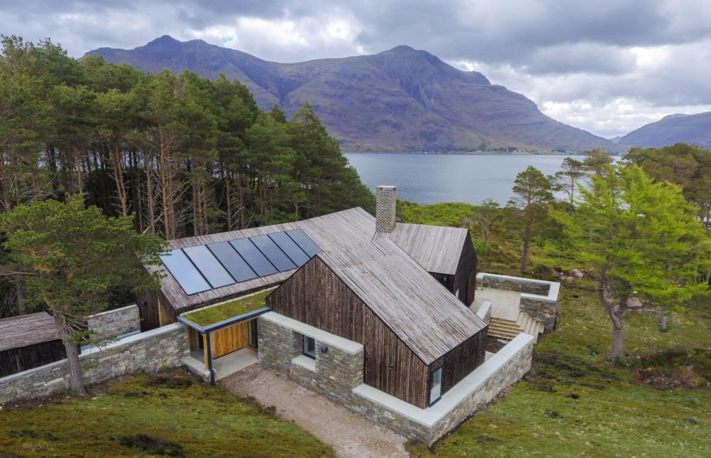 Lochside eco-house in north-west highlands wins award