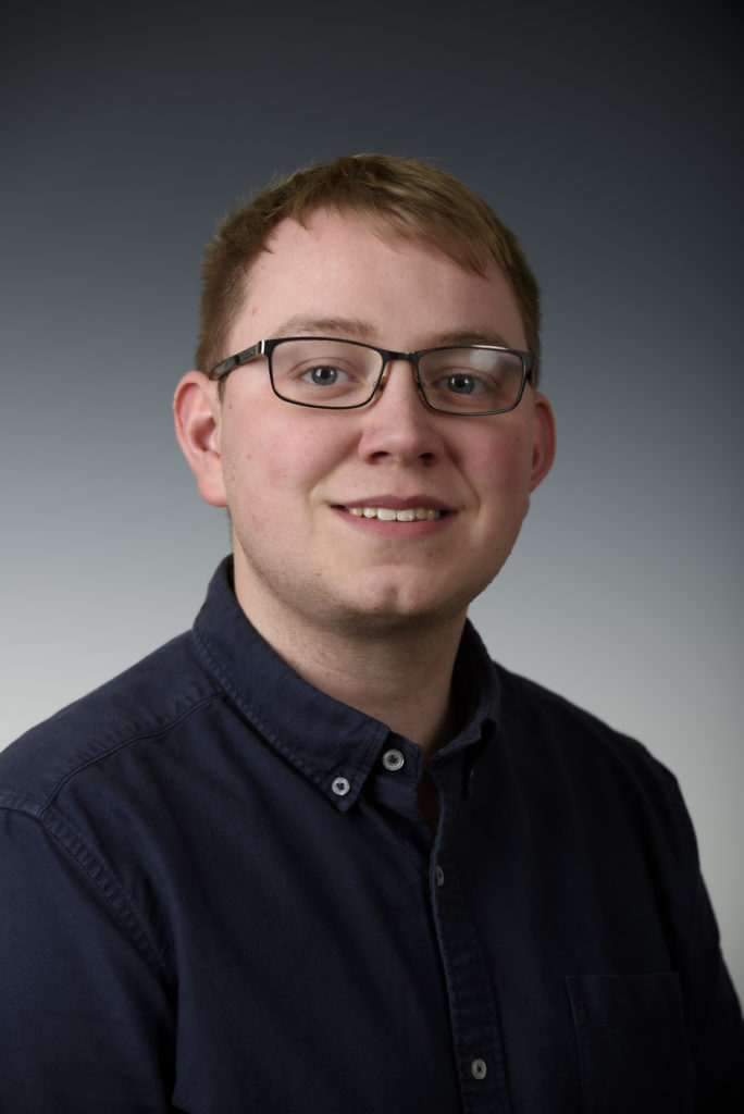 Male member of AES Solar staff headshot