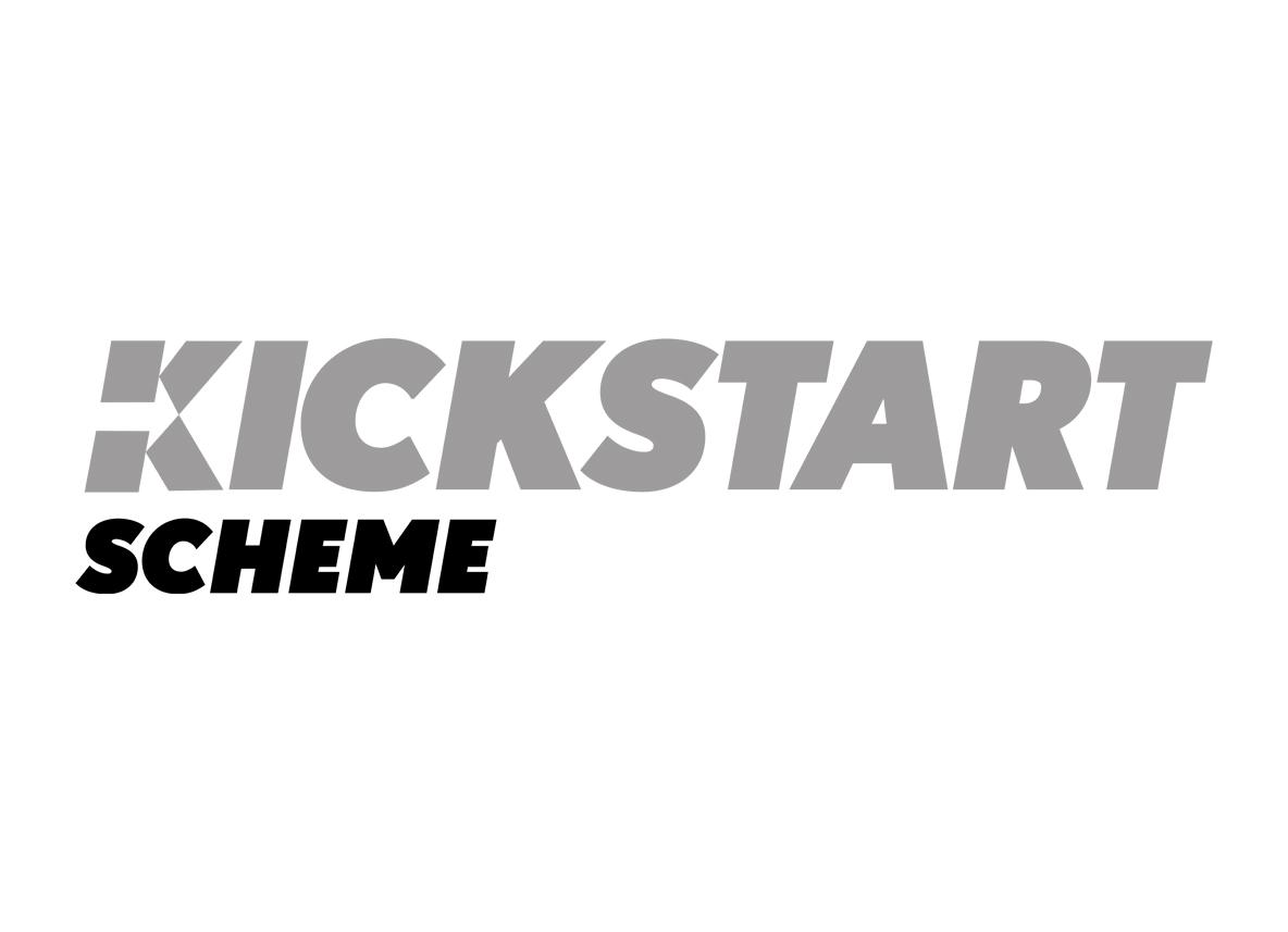 AES Solar support kickstart scheme logo