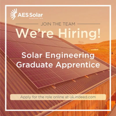 Solar Engineering Graduate Apprentice
